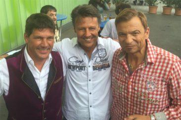 Mark Dean mit Geri der Klostertaler und Markus Wolfahrt