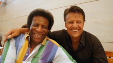 Mark Dean mit Roberto Blanco