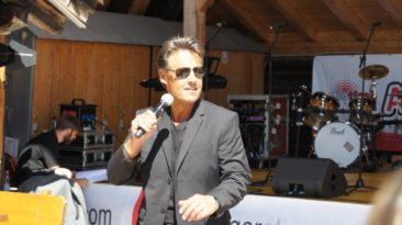 Mark Dean am Radio Tirol Musikfest (August 2016)